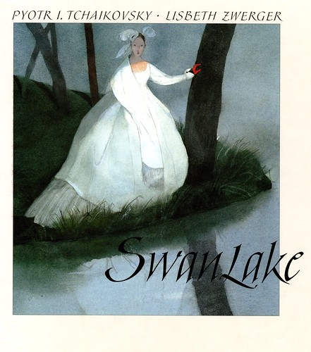 """Swan Lake"" by Pyotr I. Tchaikovsky; illustrations by Lisbeth Zwerger."