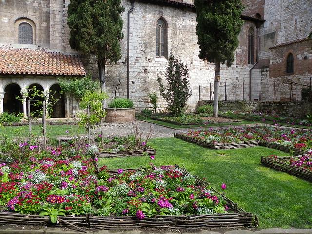 Le cloître Saint-Salvi