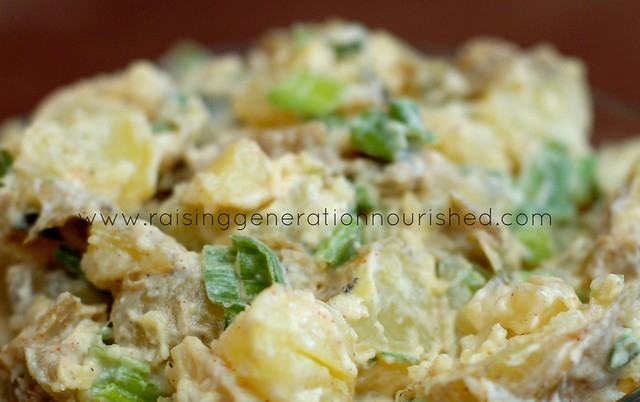 Real Food Summer Picnic Series :: Potato Salad