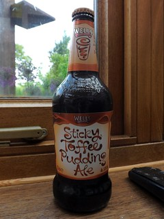 Wells, Sticky Toffee Pudding Ale, England.
