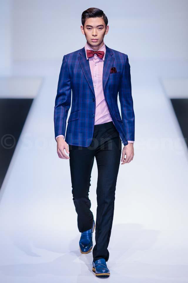 Bon Zainal Collection - Kuala Lumpur Fashion Week 2014 (KLFW2014)