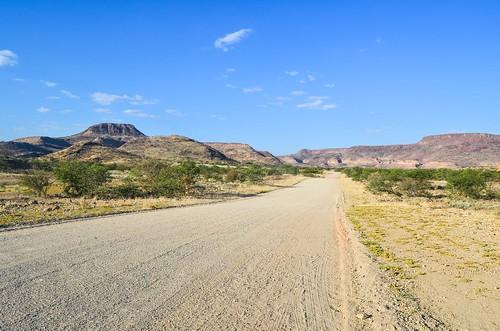 The road to the Skeleton Coast