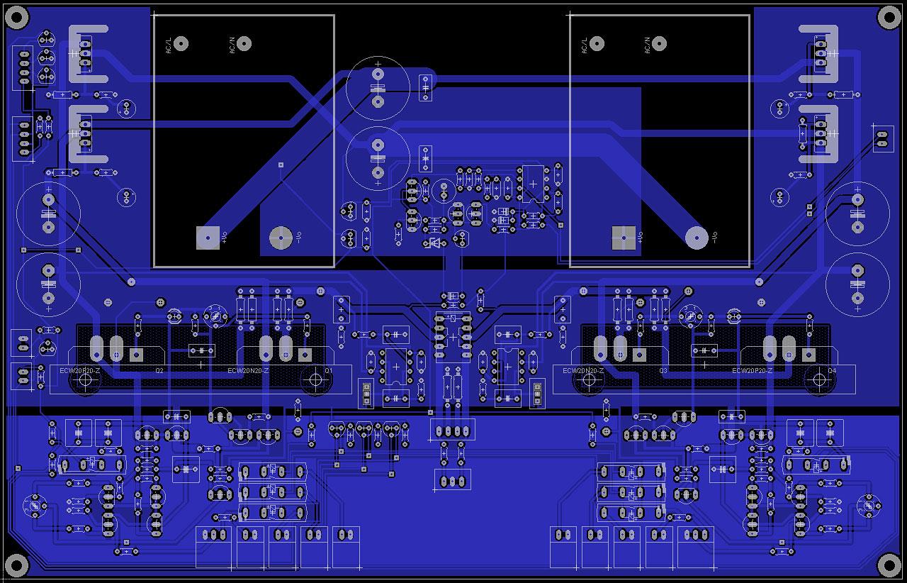 AF-6: Il circuito stampato 14408184820_05aa4a5340_o_d