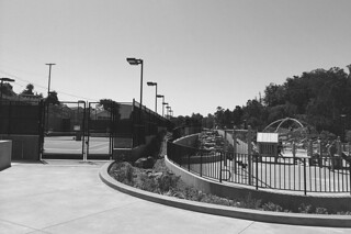 Glen Park Recreational Center - View from the Western edge