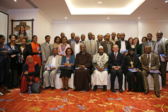 Group Photo: UNICEF consultative workshop with religious leaders in Ethiopia