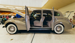 1939 Pontiac with suicide doors