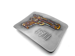 Colt 1911 gun belt buckle