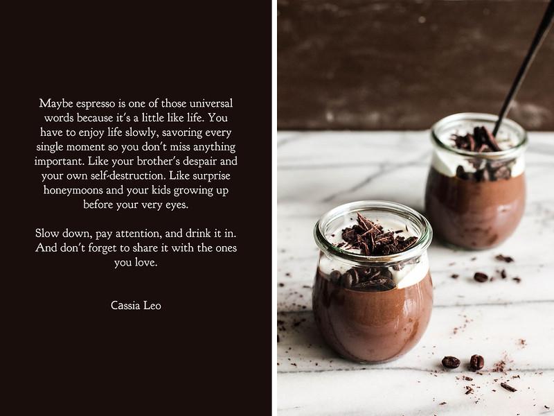Chocolate Espresso Custard
