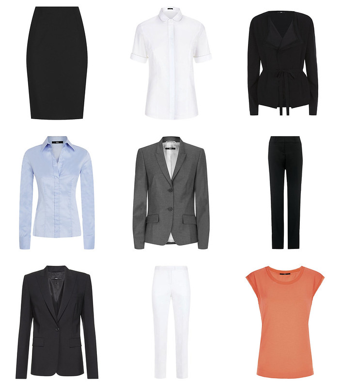 23 Ways to Wear - Office Chic Minimalist Wardrobe