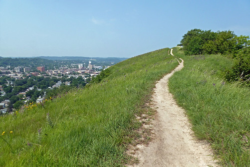 trail and city