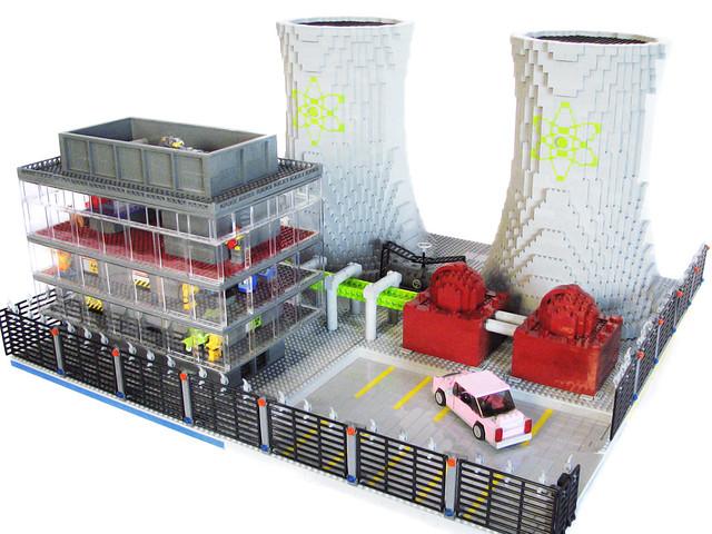 LEGO Springfield Nuclear Power Plant