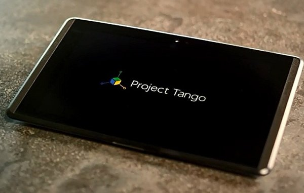 Планшет LG Project Tango