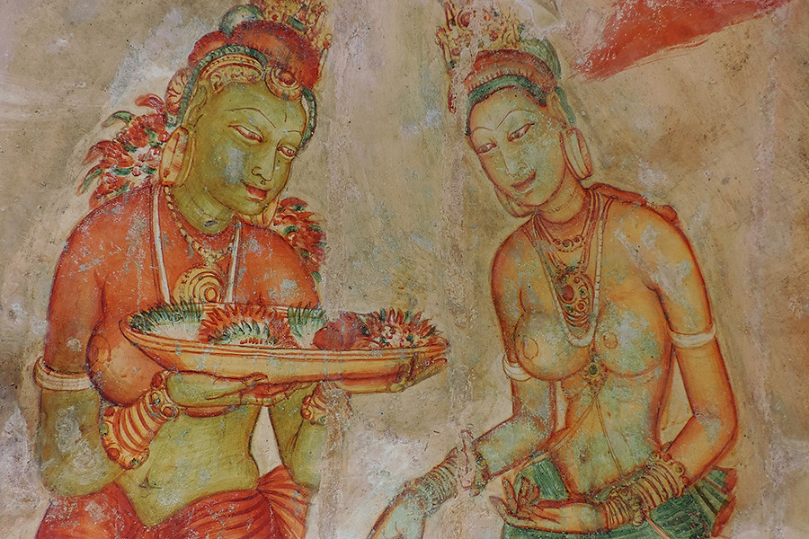 Sigiriya - Religious Ladies or Concubines ?