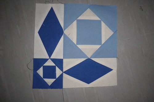 trying myself at a traditional block
