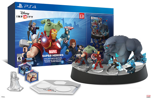Disney Infinity Marvel Super Heroes PS4 collectors edition