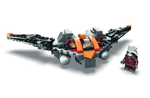 SDCC 2014 LEGO Rocket's Warbird