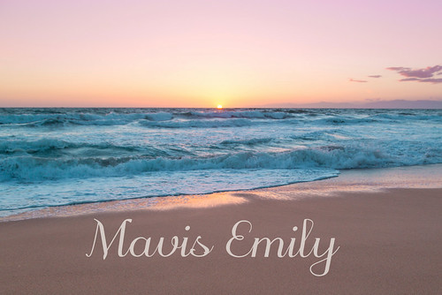 Mavis Emily's Pastel Sunset