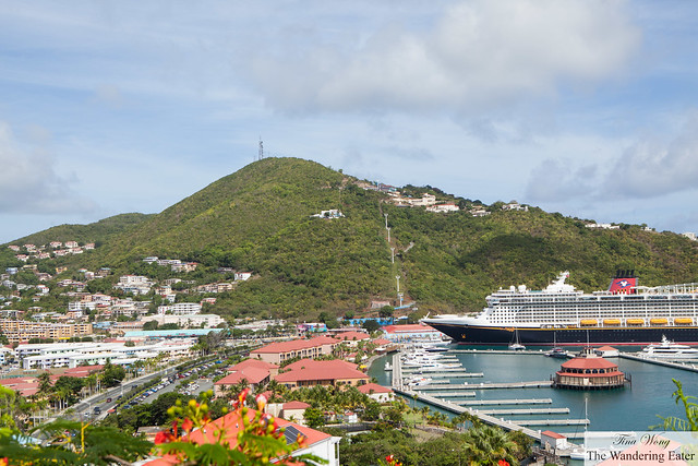 View of Cay Bay of Charlotte Amalie, St. Thomas (looking west)