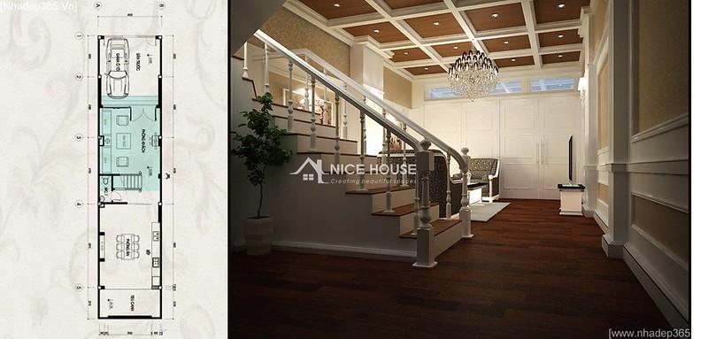 Thiết kế nội thất nhà anh Lý - Hà Đông_04