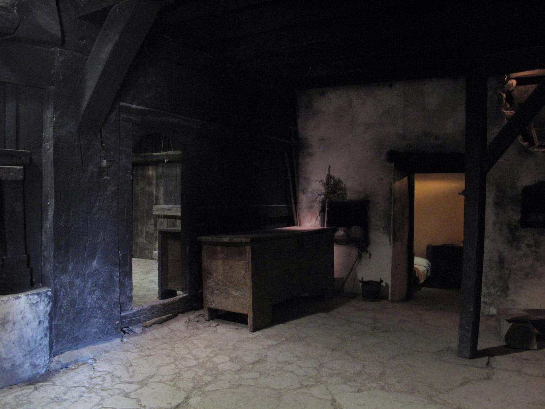 caserio igartubeiti_recreacion_hogar_fuego sobre suelo arcilla
