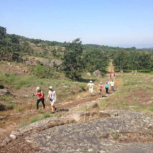 Caminhada do Cristo Rei - Vilar Seco. na Quinta da Cerca