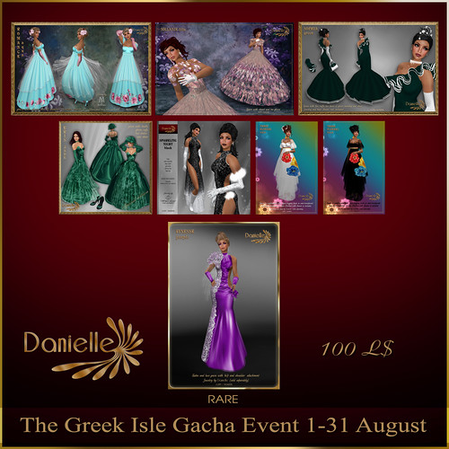 Danielle at The Greek Gacha Event