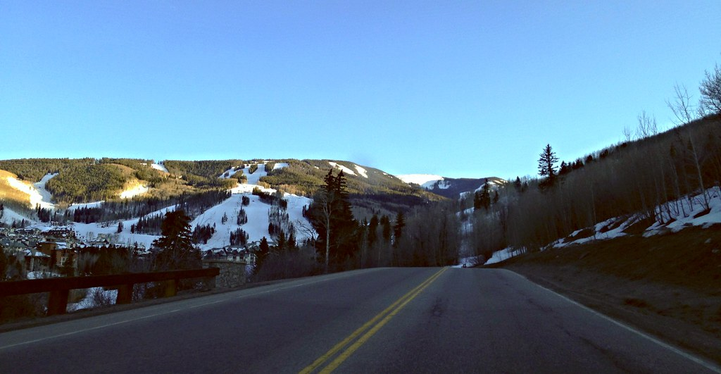 Approaching Beaver Creek, Colorado