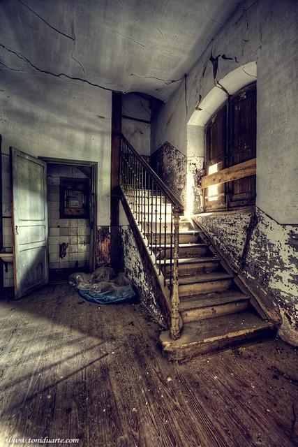 Antigua escuela abandonada