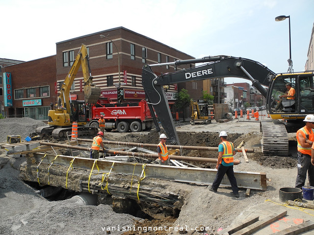 Frontenac Ontario construction 1
