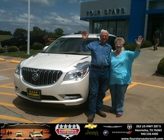 #HappyAnniversary to Harriet Sides on your 2013 car purchase from Gene Klinkerman at Four Stars Auto Ranch!