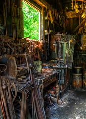 Blacksmith's workbench • vividHDR