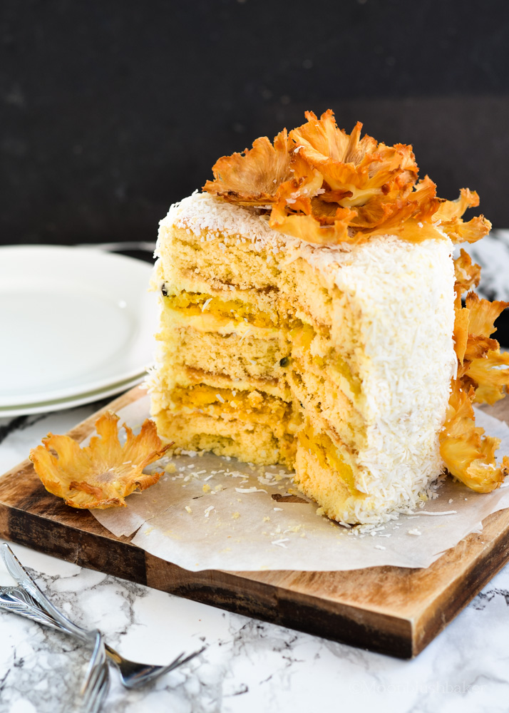 Passion Fruit Butter Cake Recipe