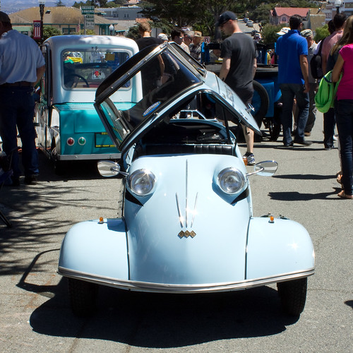 Messerschmidt at The Little Car Show - Pacific Grove, August 14, 2014