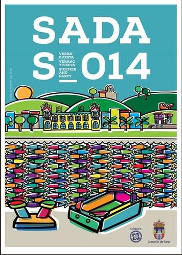 Sada 2014 - Festas Patronais - cartel