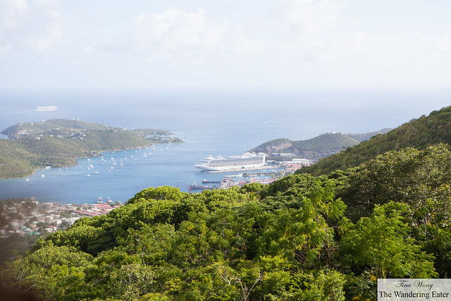 Looking east of Charlotte Amalie, St. Thomas