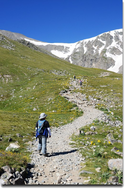 Jacob is on his way to Grays Peak 4