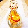 Very pretty & bright French perfume bottle / #vintage #french #perfume #bottle
