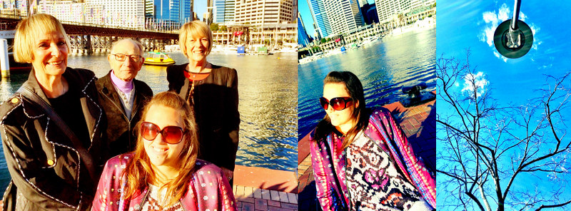 Family Session in Darling Harbour, Pyrmont, Sydney, Australia