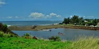 Image of Cook Landing Site. hawaii kauai waimea 1770s