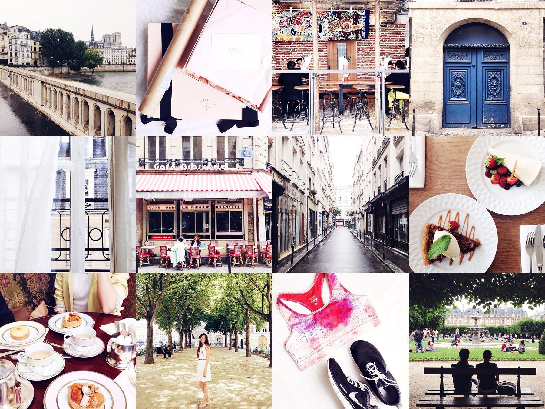 Paris in Four Months on Instagram