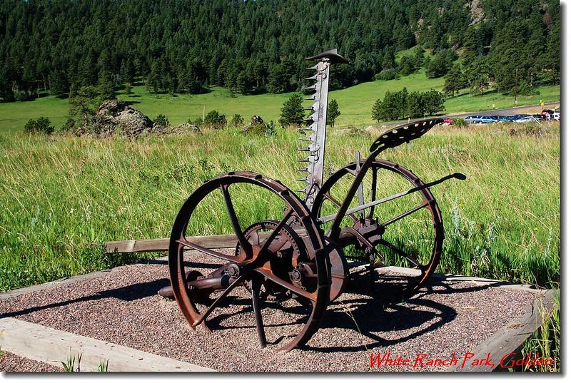 早期農具Hay Mower (割草機)