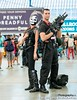Crossbones & Punisher at SDCC 2014