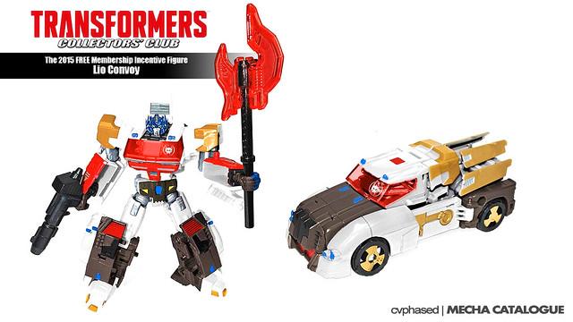 Transformers Collectors' Club 2015 Incentive Figure - Lio Convoy