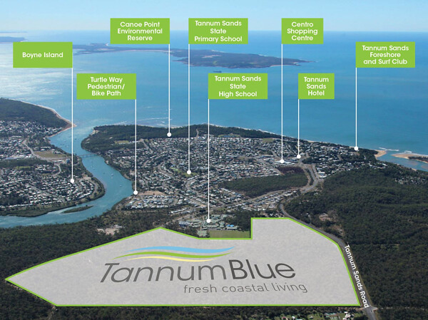 The Tannum Sands development in Gladstone (QLD) will benefit from the region's growth