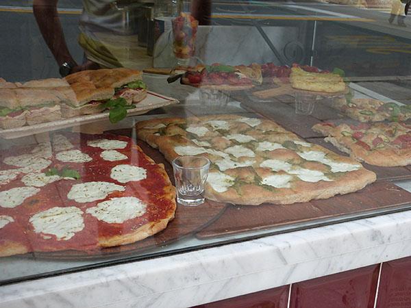 pizza et focaccia