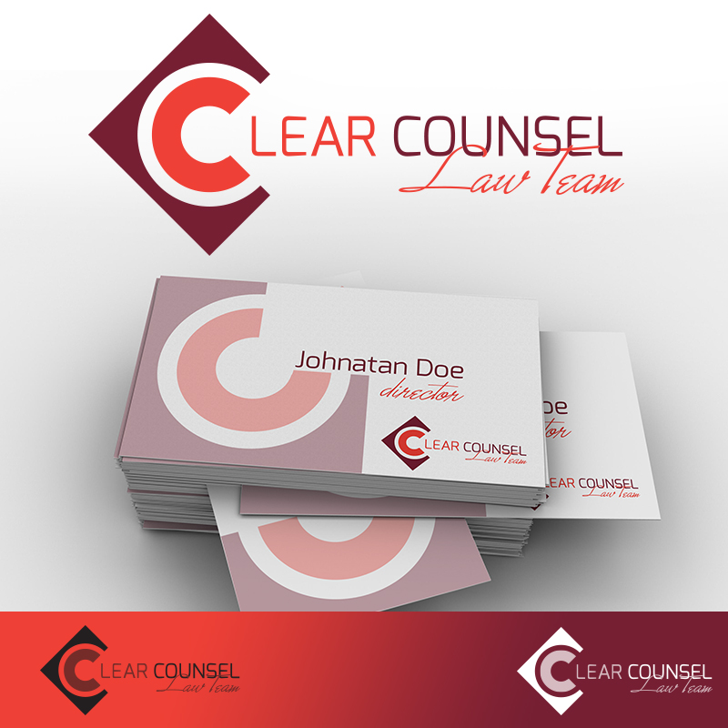 Clear Counsel logóterv