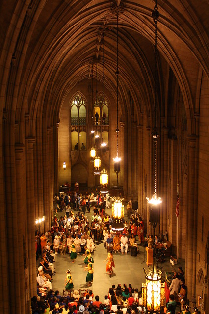 Inside the beautiful Cathedral of Learning