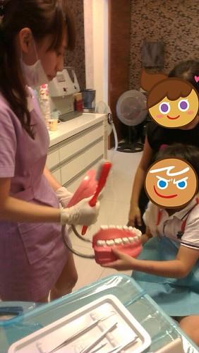 豐美牙醫診所-兒童牙齒衛教+塗氟6