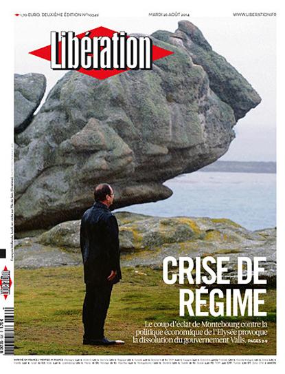 14h25 Crisis de régimen dice Liberation