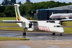1198 ET-ARN Dash 8 Ethiopian